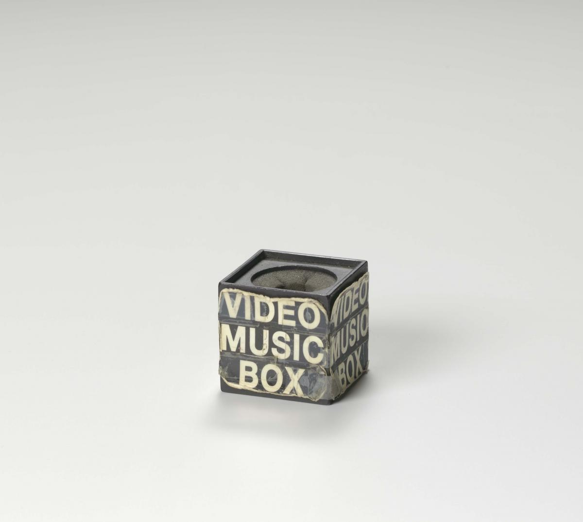 Microphone box used by Ralph McDaniels on the television show Video Music Box, ca. 1988, Collection of the Smithsonian National Museum of African American History and Culture, Gift of Ralph McDaniels, Founder of Video Music Box