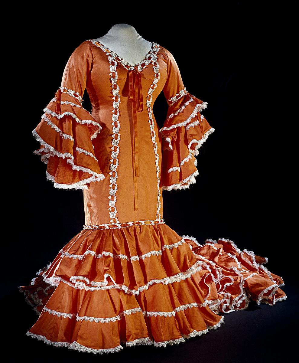 Cuban Rumba Dress, NMAH