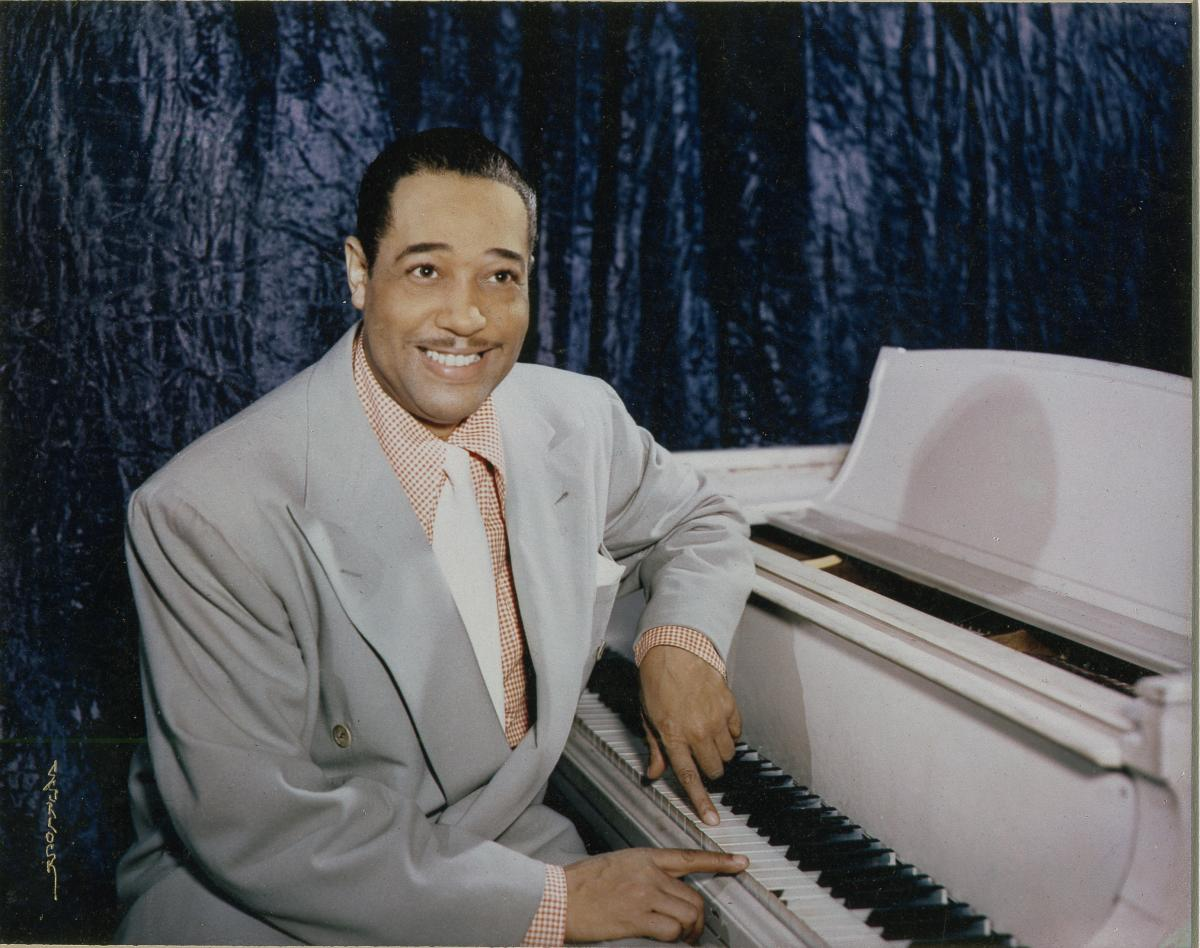 duke ellington at the smithsonian smithsonian music ellington from the scurlock photographic collection nmah 618psduke jpg