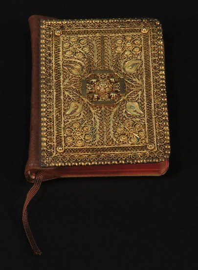 Ellington's Bible, which he gifted to Evie Ellington