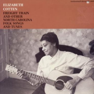 Album art, Elizabeth Cotten, Freight Train and Other North Carolina Folk Songs and Tunes