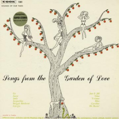 Album art, Songs from the Garden of Love, Jefferson-Jones Orchestra, 2004 Smithsonian Folkways Recordings / Cook Records