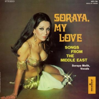 Album art, Soraya, My Love: Songs from the Middle East, Soraya Melik, 2004 Smithsonian Folkways Recordings / Monitor Records