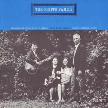 Album art, Phipps Family - Faith, Love and Tragedy, A.L. Phipps and the Phipps Family, 2004 Smithsonian Folkways Recordings / 1965 Folkways Records