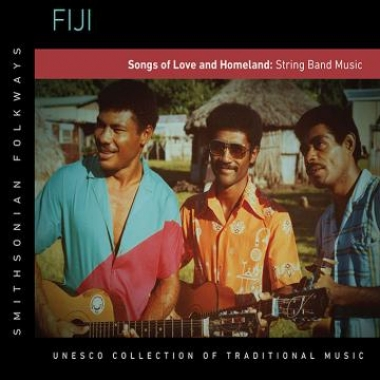 Album art, Fiji: Songs of Love and Homeland: String Band Music, Various artists, 2014 Smithsonian Folkways Recordings