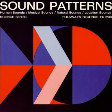 Album art, Sound Patterns, Various Artists, 2004 Smithsonian Folkways Recordings / 1953 Folkways Records