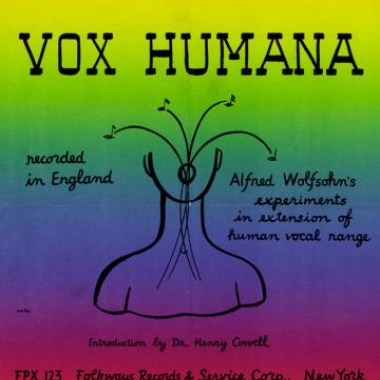 Album art, Vox Humana, Various artists, 2004 Smithsonian Folkways Recordings / 1956 Folkways Records