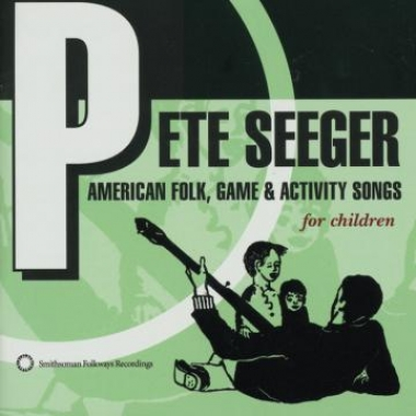 Album art, Pete Seeger, American Folk, Game and Activity Songs
