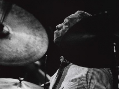 Art Blakey, 1980. Collection of the Smithsonian National Museum of African American History and Culture, Gift of David. D. Spitzer, © David D. Spitzer.