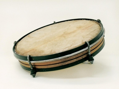 Pandereta (Plena Drum), Puerto Rico, 20th Century, Division of Home and Community Life, National Museum of American History, Kenneth E. Behring Center, Gift of Teodoro Vidal