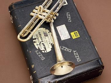 Dizzy Gillespie's Trumpet, NMAH, Gift of Lorraine Gillespie