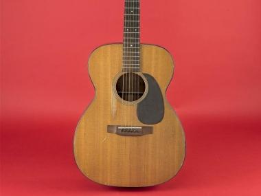 Elizabeth Cotten's C. F. Martin and Company, Auditorium Orchestra model #000-18 guitar, 1950.