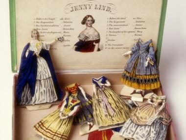 Jenny Lind paper doll