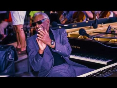 Keyboard owned by Ray Charles