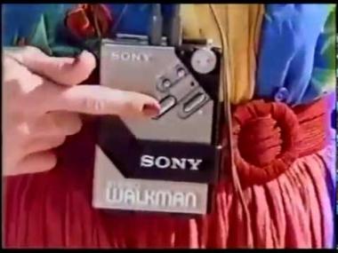 Sony Walkman Commercial (1981)
