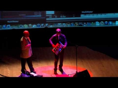 """Buzz Aldrin and Thomas Dolby Perform """"She Blinded Me With Science"""""""