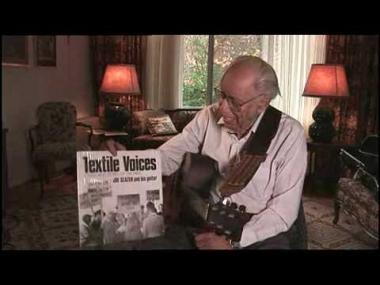Joe Glazer discusses music in the American Labor Movement