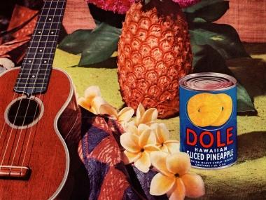 Dole ad with uke