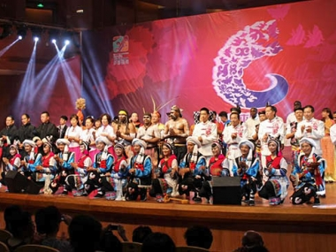 An international lineup at the 2014 Guiyang Summer Festival of Indigenous Music. Photo by D.A. Sonneborn