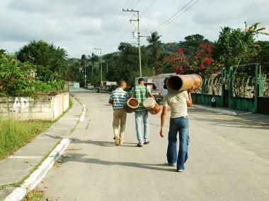 Venezuelan drummers