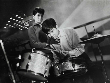 Promotional image, The Stormy Man, directed by Umetsugu Inoue, Image © 1957 Nikkatsu