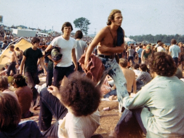 The Crowds at Woodstock