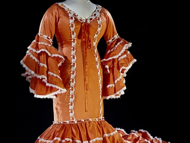 Cuban Rumba Dress, NMAH, Gift of Celia Cruz