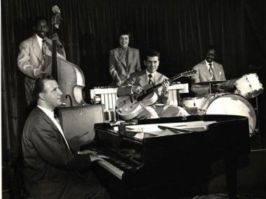 George Shearing Quintet, Image courtesy of Devra Hall Levy