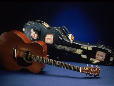 Libba (Elizabeth) Cotten's Guitar, 1950, C. F. Martin and Company, National Museum of American History, Kenneth E. Behring Center.
