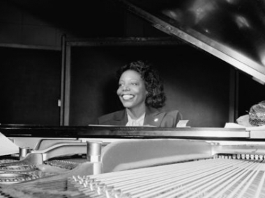 Mary Lou Williams at the piano