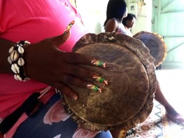 Female Batá Drummers