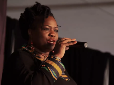 Screenshot of video, Iddi Achieng' at 'Divas Night: Homage to Kenyan Women in Music'