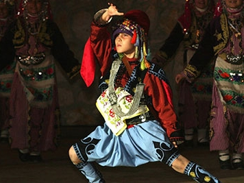 Folk dancer Turkey