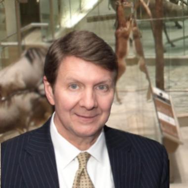 Randal Kremer at Natural History Museum